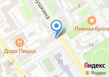 Компания «Белорусская обувь» на карте