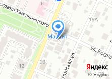 Компания «Фокинский» на карте