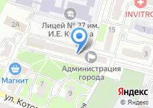 Компания «Администрация Фокинского района» на карте