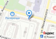 Компания «Менжинка» на карте