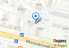 Компания «Центр детского творчества Фокинского района г. Брянска» на карте