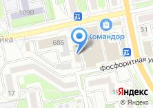 Компания «Командор» на карте