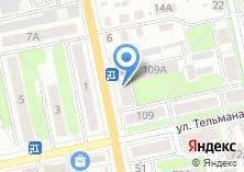 Компания «Заводской бар» на карте