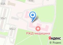 Компания «Поликлиника №1 ст. БРЯНСК-2» на карте