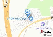 Компания «Калуга-Авто» на карте