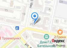 Компания «Сеть салонов цветов» на карте