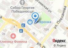 Компания «Кафе-бар» на карте