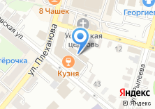 Компания «Стартелеком» на карте