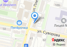 Компания «Справедливая Россия» на карте