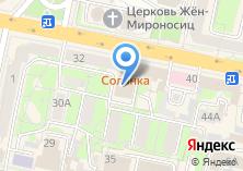 Компания «Государственный фонд поддержки предпринимательства Калужской области» на карте