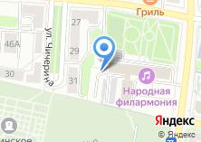 Компания «Автостоянка на ул. Пухова» на карте