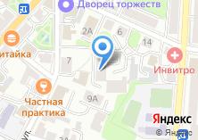 Компания «Ростелеком телевизионно-коммуникационная компания» на карте