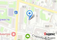 Компания «Молния» на карте