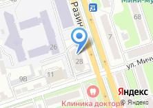 Компания «Автозапчасти и спецодежда» на карте
