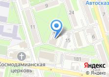 Компания «Баня №1» на карте