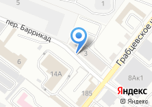 Компания «Автостоянка на переулке Баррикад» на карте