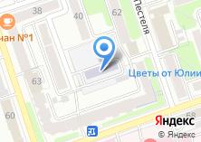 Компания «Военный комиссариат Октябрьского и Ленинского округо» на карте