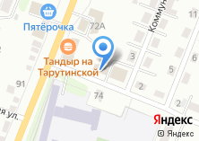Компания «ПАЗ» на карте