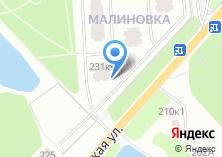 Компания «МАЛИНОВКА» на карте