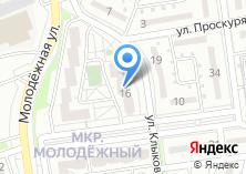 Компания «Строящийся жилой дом по ул. Клыкова» на карте