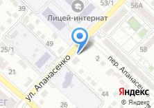 Компания «ОНЛАЙН КОНСТРУКТОР ВИЗИТОК» на карте