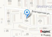 Компания «Строящийся жилой дом по ул. Благодатная (Дубовое)» на карте