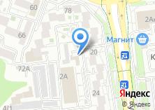 Компания «Конструкция 24-7» на карте