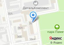 Компания «Газпром межрегионгаз» на карте