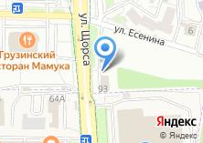 Компания «Строящееся административное здание по ул. Щорса» на карте