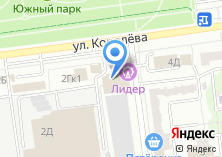 Компания «Зачётное» на карте