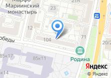Компания «Vip-цветы» на карте
