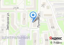 Компания «Строящееся административное здание по ул. Лунная (Дубовое)» на карте