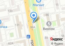 Компания «Шапицца» на карте