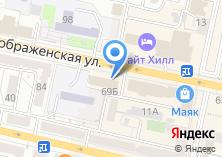 Компания «Интеравиа-центр» на карте