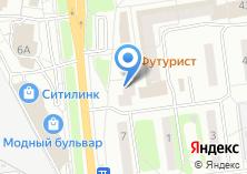 Компания «Мастер-мебель» на карте