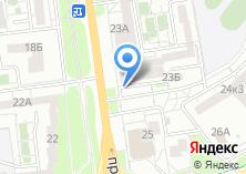 Компания «Ателье на проспекте Ватутина» на карте