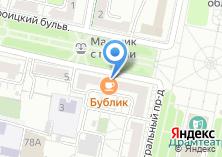 Компания «Пыж кафе» на карте