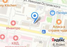 Компания «НОТА» на карте
