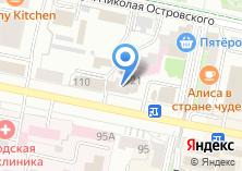 Компания «Новая Мебель» на карте