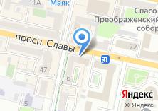 Компания «Первое адвокатское бюро Белгородской области» на карте