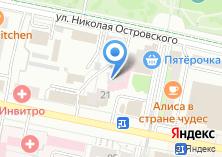 Компания «Банк Юнистрим» на карте