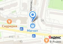 Компания «Строящееся административное здание по ул. Костюкова» на карте