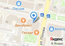 Компания «Милленниум» на карте