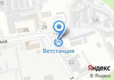 Компания «Белгородская городская станция по борьбе с болезнями животных» на карте