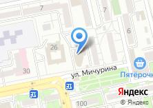 Компания «Строящееся административное здание по ул. Мичуринский 2-й пер» на карте