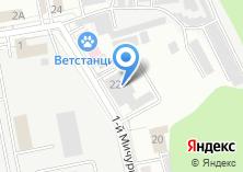 Компания «Белгородские тепловые сети» на карте