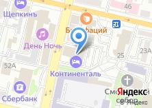 Компания «Континенталь» на карте