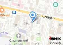Компания «Бюро Правовой Защиты» на карте