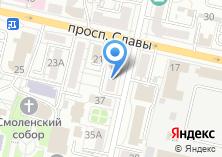 Компания «Метраж» на карте