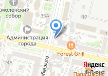 Компания «Современные окна» на карте